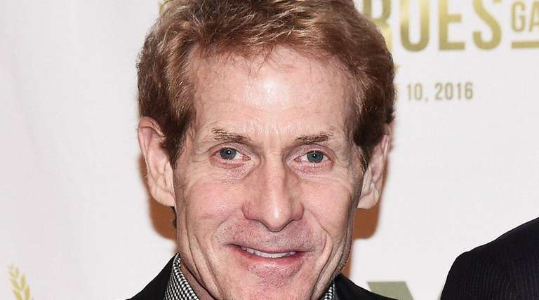 TV sports commentator Skip Bayless attends the 2016