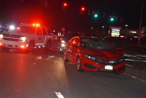 A pedestrian died Thursday, Nov. 10, 2016, after