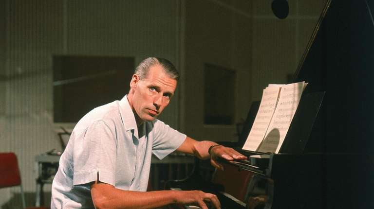 Beatles producer George Martin is featured in the