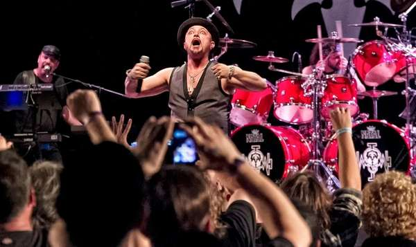 Geoff Tate performs at Mulcahy's in Wantagh Saturday,