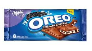 The Milka Oreo Chocolate Candy Bar contains a