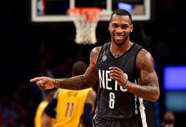 Brooklyn Nets guard Sean Kilpatrick (6) celebrates after