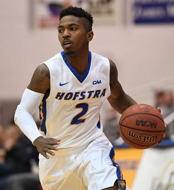 Hofstra guard Deron Powers, who had 12 points