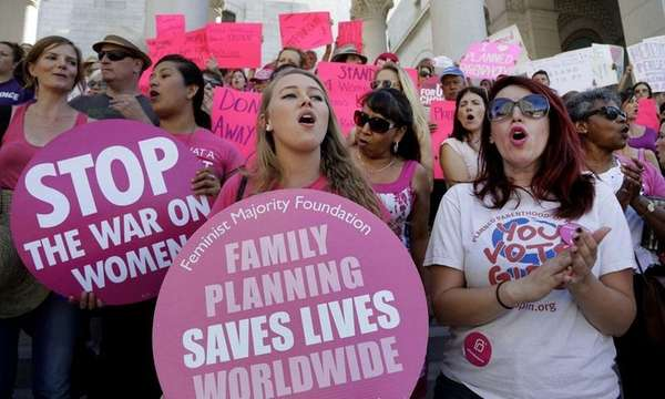 In this Sept. 9, 2015 photo, Planned Parenthood