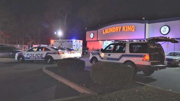 Suffolk County police investigate a stabbing in Coram