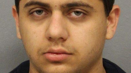 Jacob Guzman, 18, of North Bellmore, was arrested