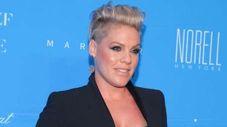 Singer Pink and husband Carey Hart welcomed their