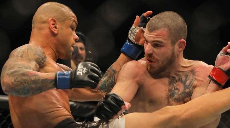 Catchweight Jim Miller defeated Thiago Alves by unanimous