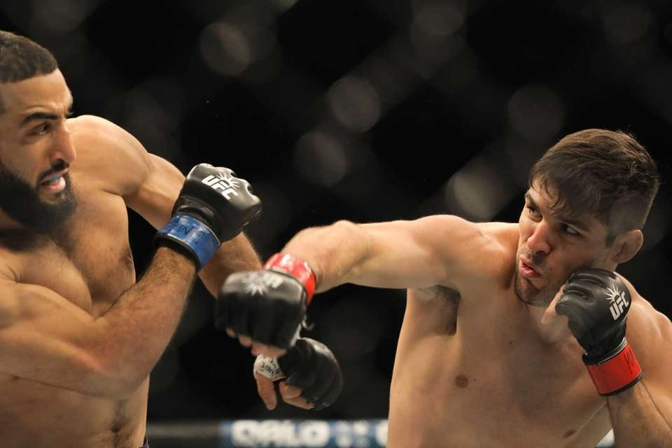 Welterweight Vicente Luque took out Belal Muhammad by