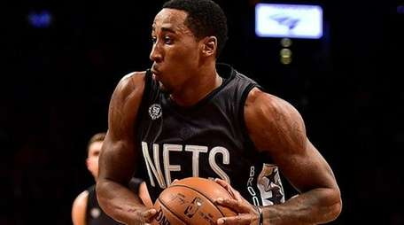 Brooklyn Nets' guard Rondae Hollis-Jefferson (24) drives to