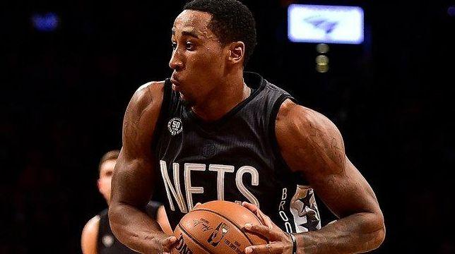Brooklyn Nets' guard Rondae Hollis-Jefferson (24) drives to