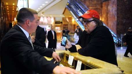 Michael Moore attempted to visit President-elect Donald Trump