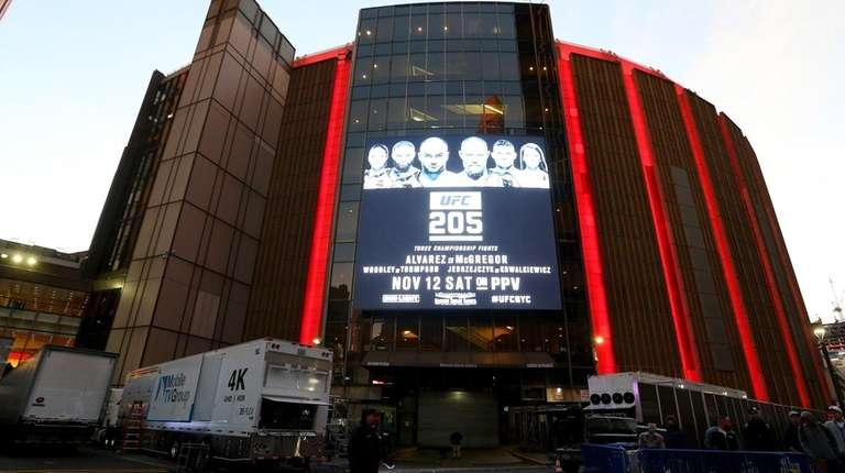 Big Demand For Ufc 205 At Madison Square Garden Newsday