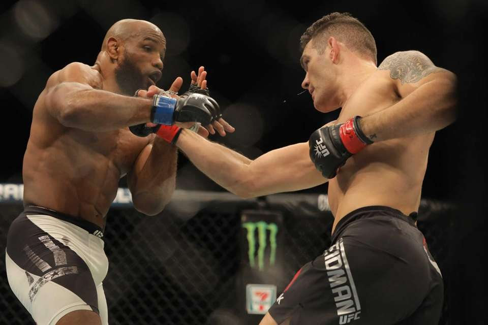 Middleweight Chris Weidman was defeated by Yoel Romero