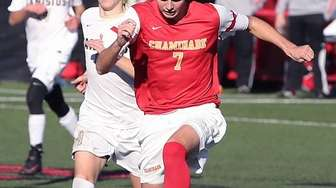Chaminade's AJ Codispoti breaks with the ball during
