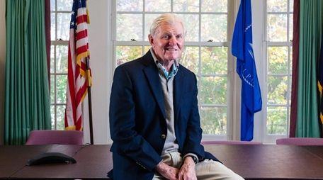 Bellport Mayor Ray Fell says a hearing will