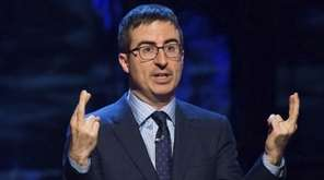 John Oliver used nearly the entire season finale
