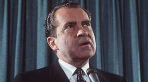 When President Richard Nixon was re-elected in 1972,