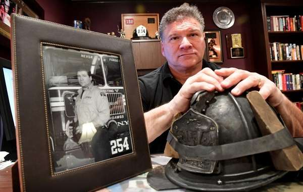 Retired FDNY Lt. Rick Garcia