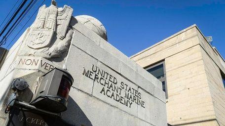 The entrance of the United States Merchant Marine