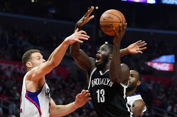Nets forward Anthony Bennett, who had seven points