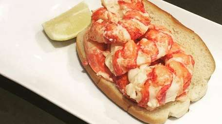 Lobster rolls with butter or mayo, burgers and