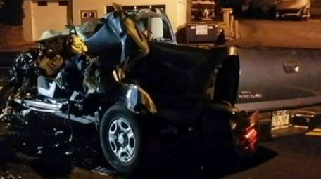 The driver who died in a crash Monday,