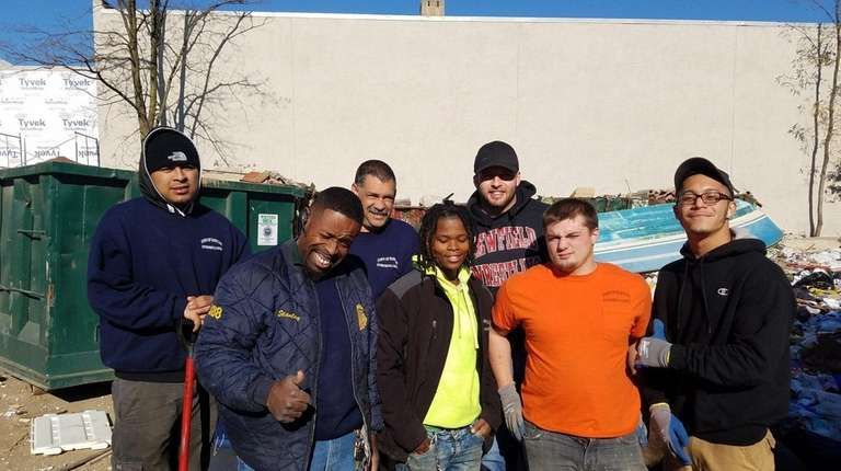 The Town of Babylon sanitation workers who helped