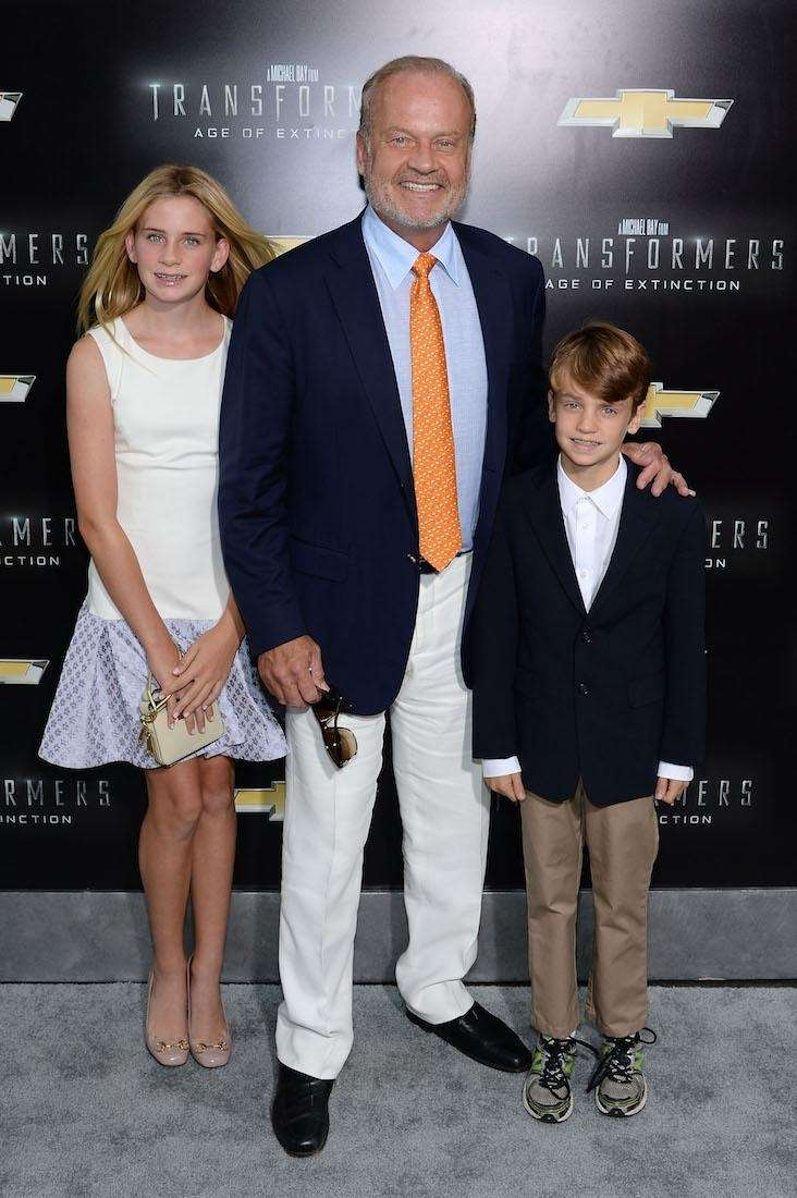 Kelsey Grammer has a daughter named Spencer with