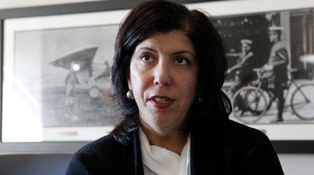 Nassau District Attorney Madeline Singas, shown Oct. 11,