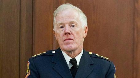 Nassau Police Chief of Patrol Frank Kirby will