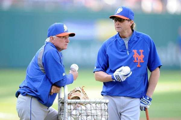Manager Terry Collins of the New York Mets,