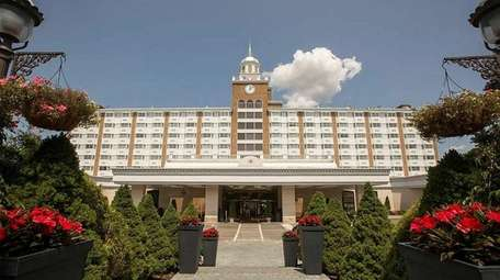 The Garden City Hotel, on its 140th anniversary,