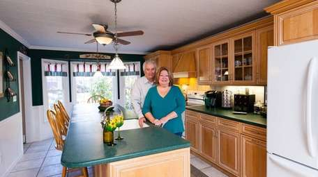 Dianne Burkhardt says the kitchen in the Miller