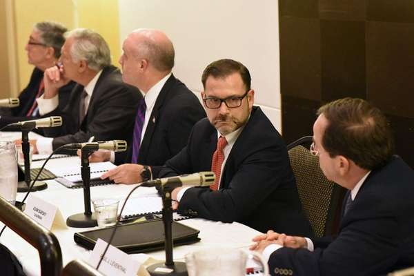 Adam Barsky, NIFA chair, second from right, along