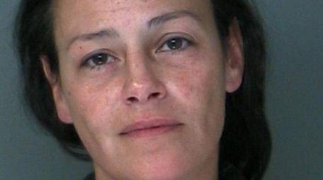 Melissa Donelan, 39, of Hampton Bays, was arrested