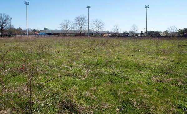 Bethpage Community park is seen on April 15,