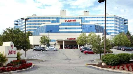 The Islandia Marriott Hotel is shown on June
