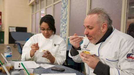 Victor McNulty, right, director of culinary and hospitality