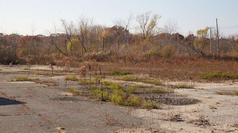 The site of the former Bavarian Inn overlooking