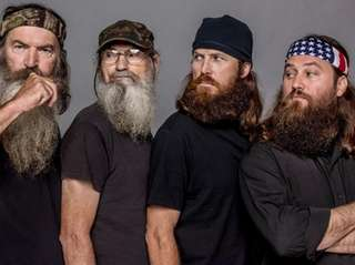 Phil, left, Si, Jase and Willie Robertson from