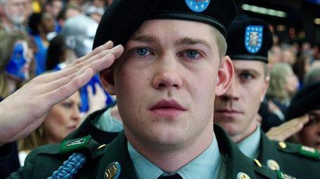 Joe Alwyn plays an Iraq veteran in Ang