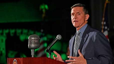 Army Lt. General Michael Flynn, who served as