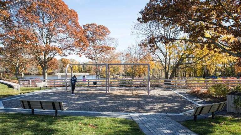 Kalers Pond Park in Center Moriches overlooks Mill
