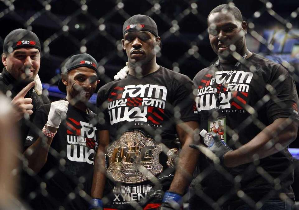 Successful title defenses: 8 With just one controversial