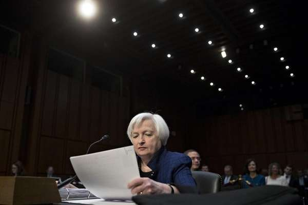 Janet Yellen, chair of the U.S. Federal Reserve,