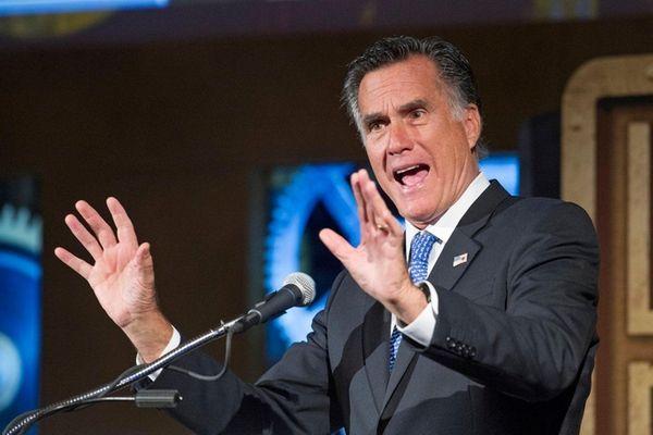 Mitt Romney, a leader of a GOP