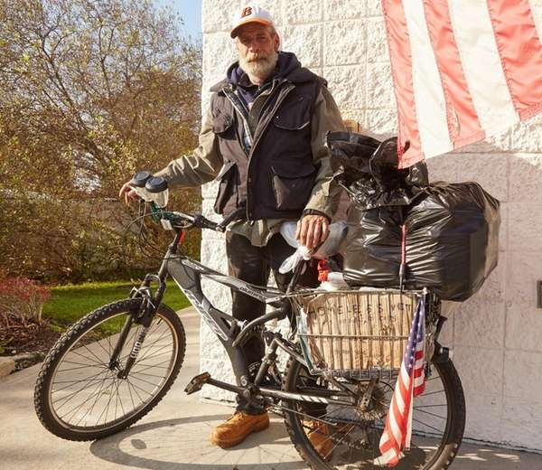 Kevin, a homeless veteran from the Ronkonkoma area,