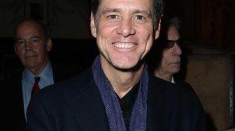 Jim Carrey at The Friars Club to celebrate