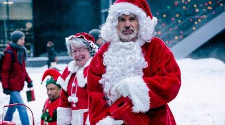 Billy Bob Thorton is back as the not-so-jolly